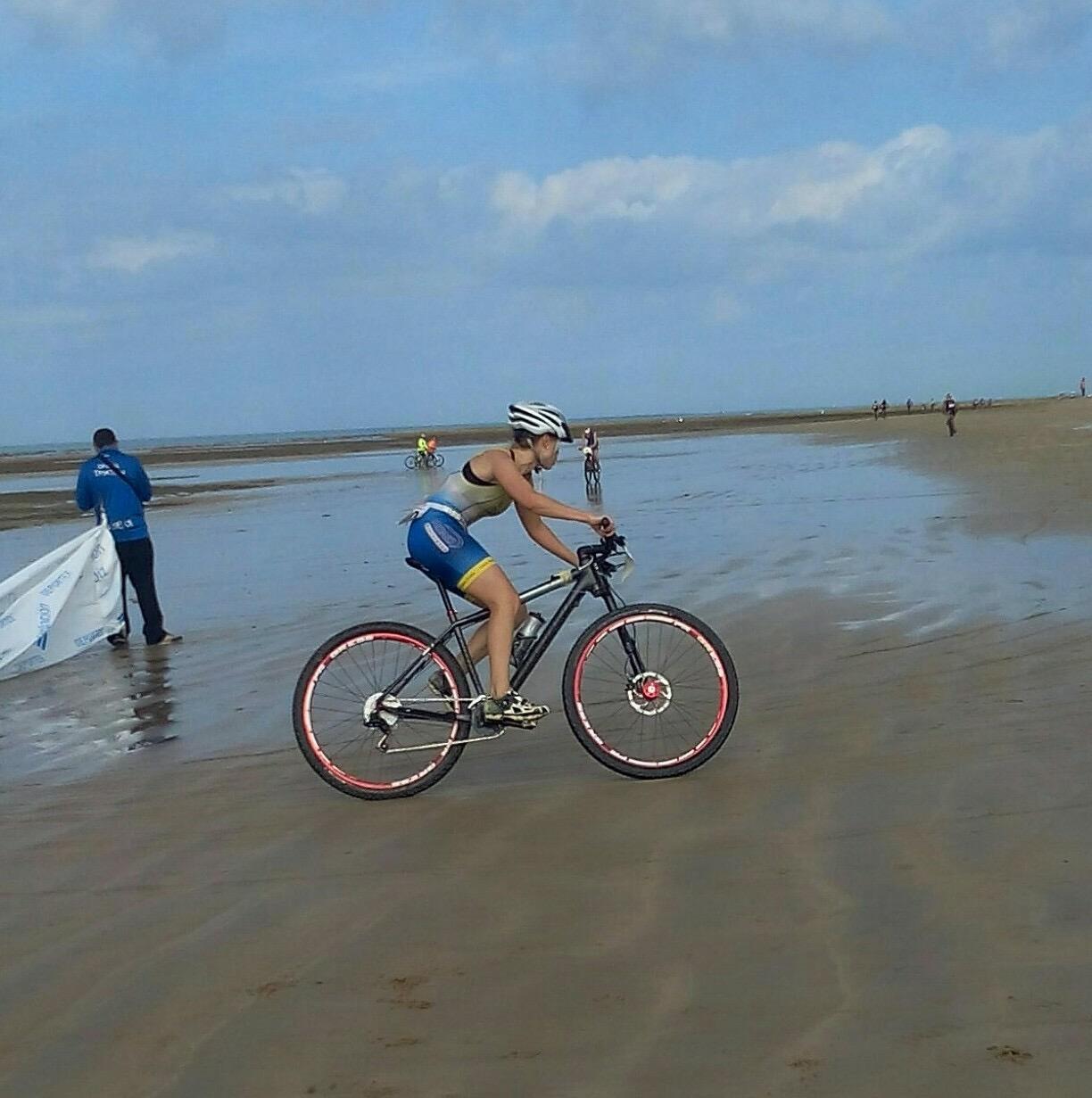 v triatlón playas de chipiona club atletismo coria