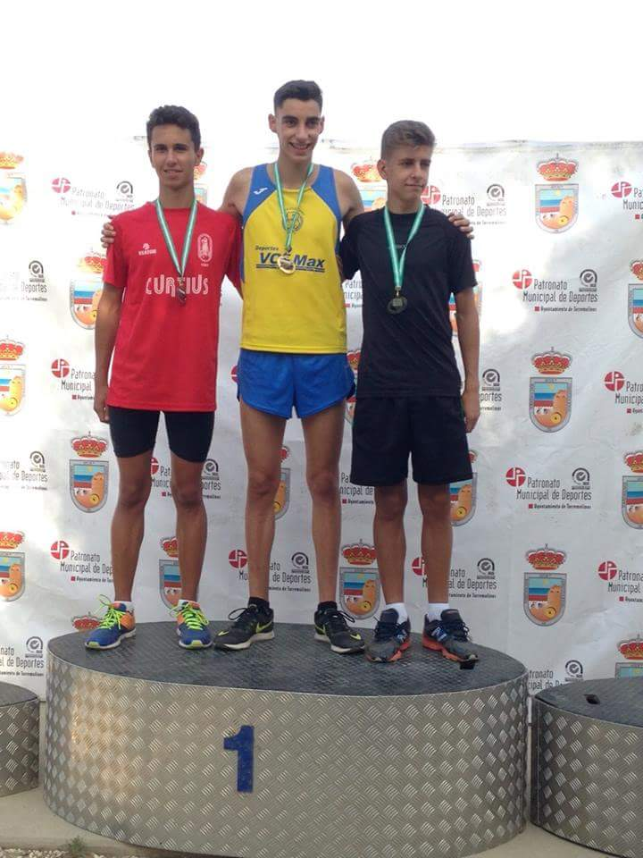 Antonio Carlos Campeón de Andalucía de 600 m.l.