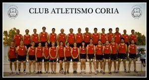 Atletas del Club Atletmsimo Coria