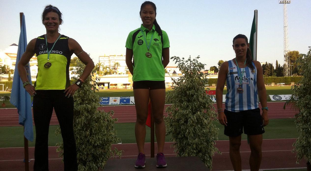 Isa Grau campeona de Andalucía de los 100 m.l.